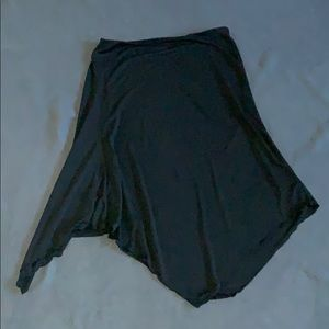 Black NY & Company Asymmetrical skirt